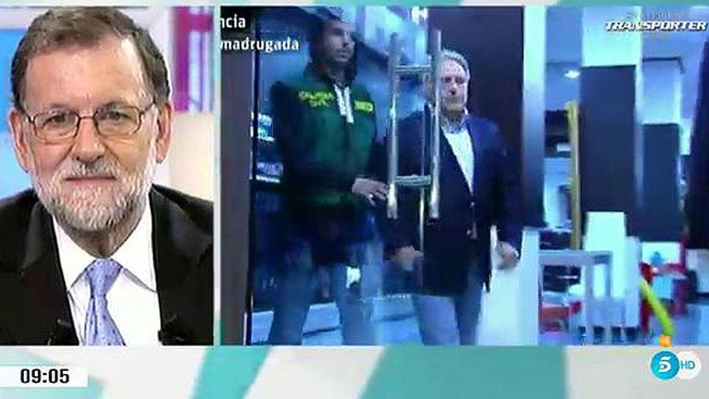 """Rajoy, sobre el PP valenciano: """"Lo importante es luchar entre todos contra la corrupción"""""""