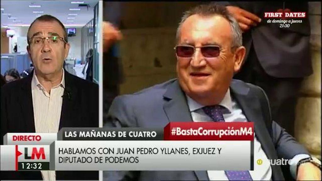 """Juan Pedro Yllanes: """"No somos iguales ante la ley y no somos iguales ante la cárcel"""""""