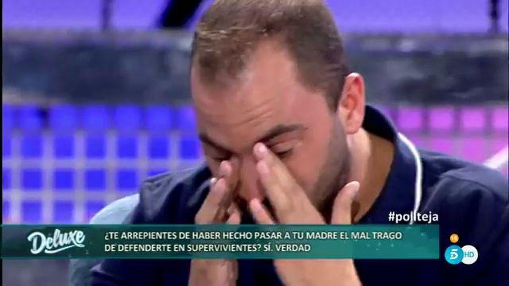 """Antonio Tejado se emociona al hablar de su madre: """"Tengo una deuda pendiente con ella"""""""