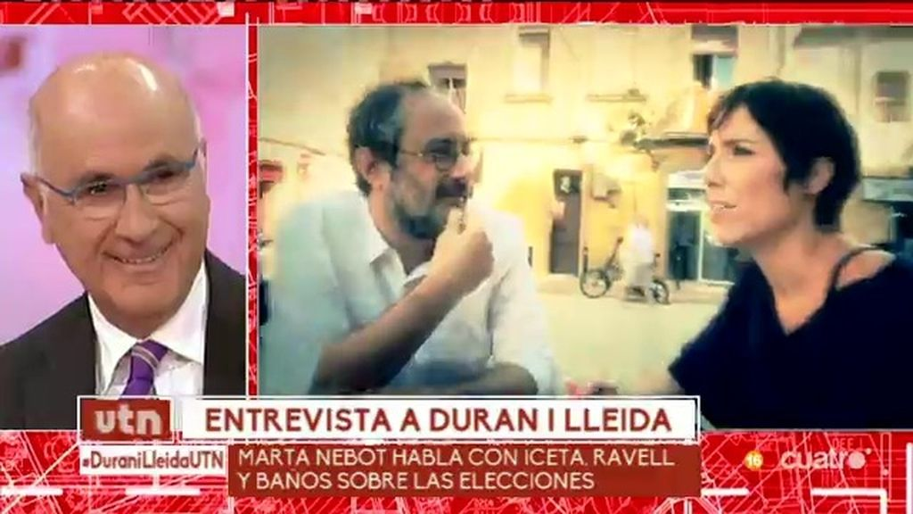 Marta Nebot habla con Iceta, Ravell y Baños sobre las elecciones