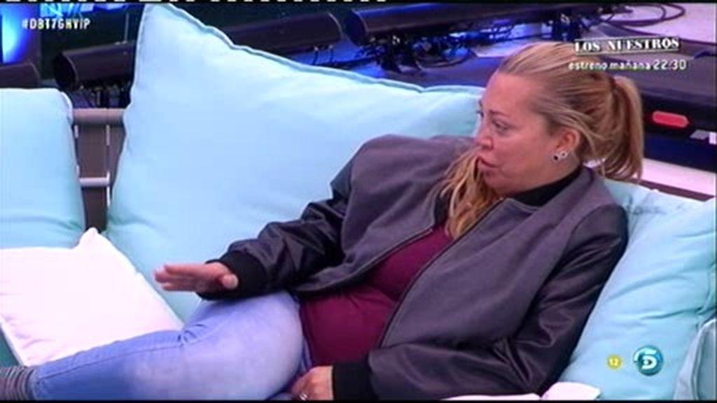 """Belén, a Ángela Portero: """"No me gustaría que Chari o tú llegaseis a la final"""""""