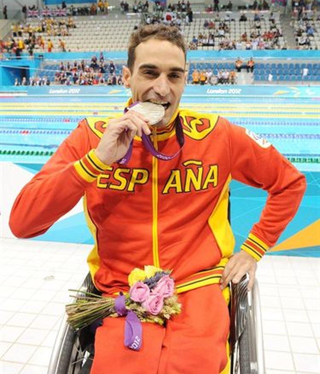 El nadador español Miguel Luque