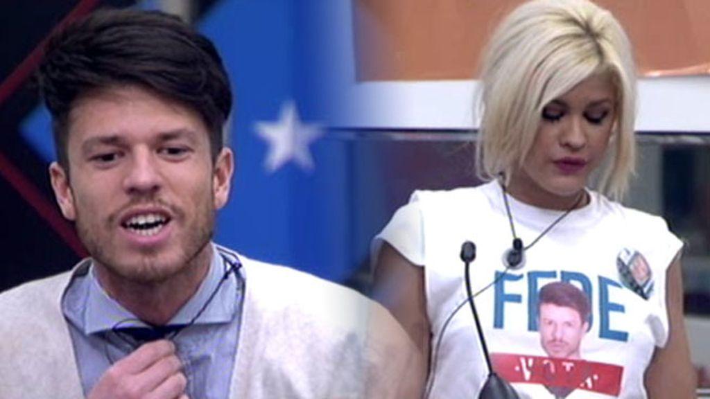 """Ylenia, defensora de Fede: """"No ha criticado a sus compañeros gratuitamente"""""""