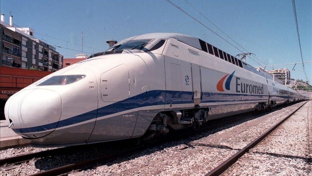 Tren de alta velocidad Euromed. EFE/Archivo