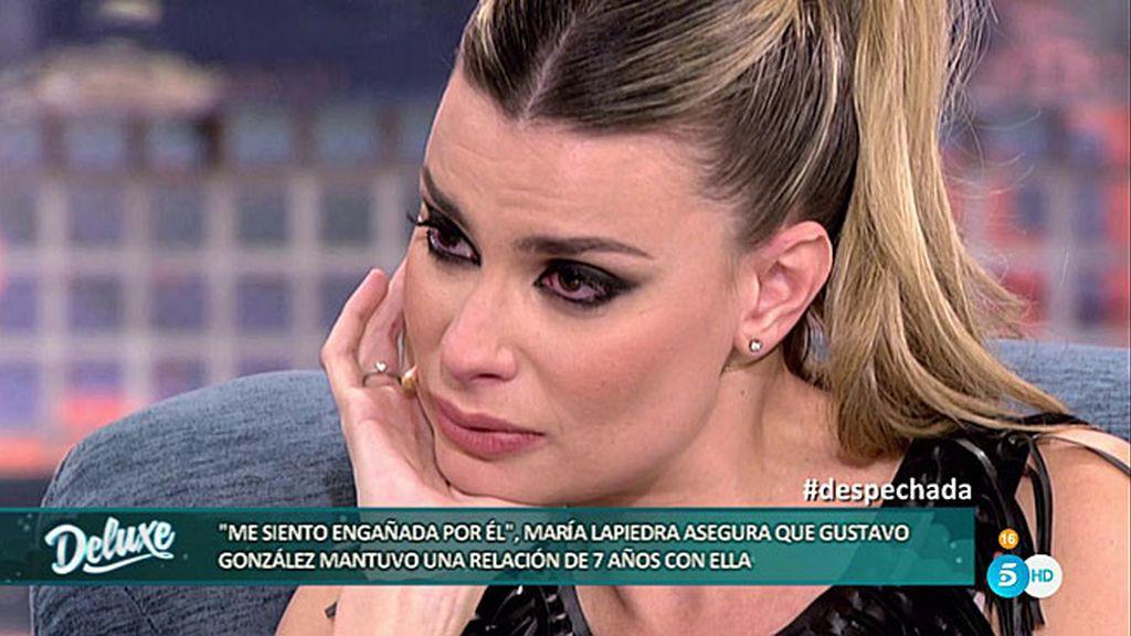 """María Lapiedra: """"Le puse los cuernos a Joan Laporta con Gustavo, le amaba"""""""