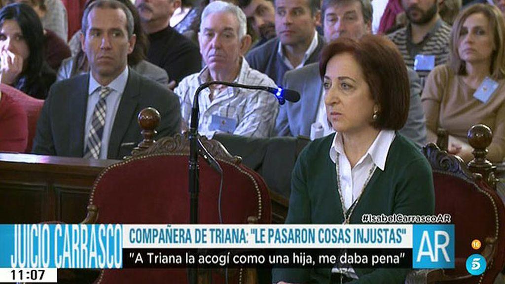 """Compañera de Triana en la Diputación: """"A Triana le pasaron cosas injustas"""""""