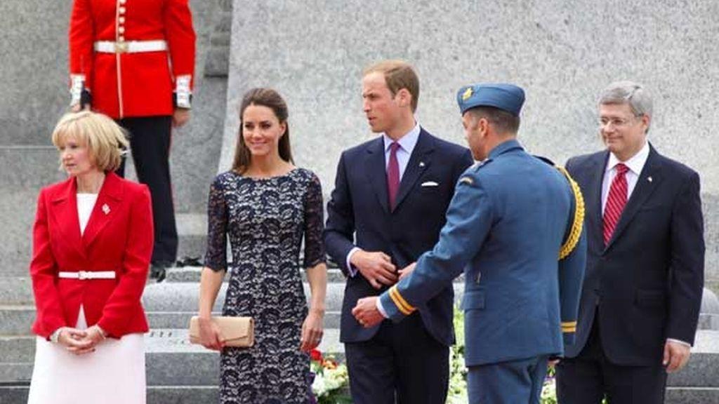 Primer viaje oficial de los Duques de Cambridge al extranjero