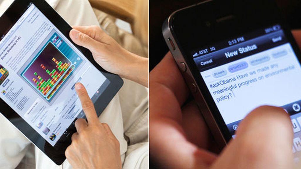 El agujero de seguridad permitiría el control remoto de los iPhones, iPads y aparatos iPod Touch.Fotos: GTRES.