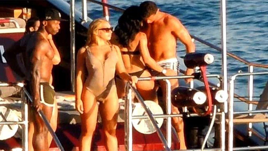¿Qué hace Elisa con Cristiano en un barco?