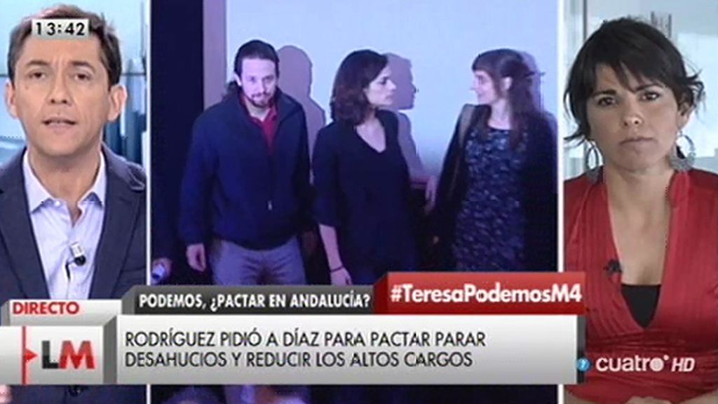"""Teresa Rodríguez: """"El resultado en Andalucía no ha decepcionado"""""""