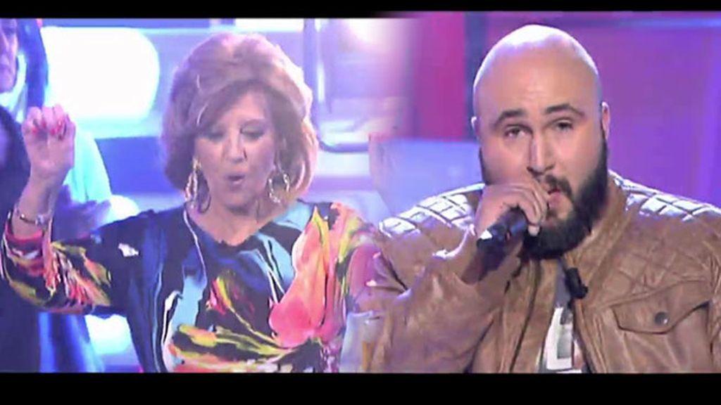 María Teresa Campos baila al ritmo de 'Sangre caliente' de Kiko Rivera