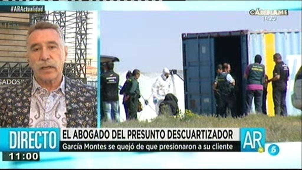 """García Montes: """"El interrogatorio a mi cliente Bruno fue impresentable"""""""