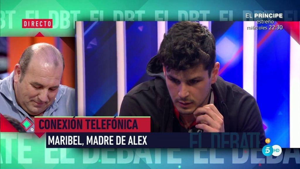 """Alejandro recibe la llamada de su madre: """"Dile a la madre de mi hijo que la estoy respetando"""""""