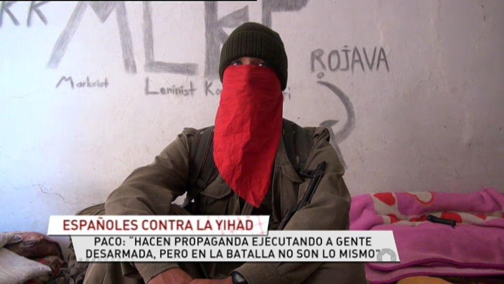 """Paco, contra la yihad: """"No nos pueden capturar, la última bala es para nosotros"""""""