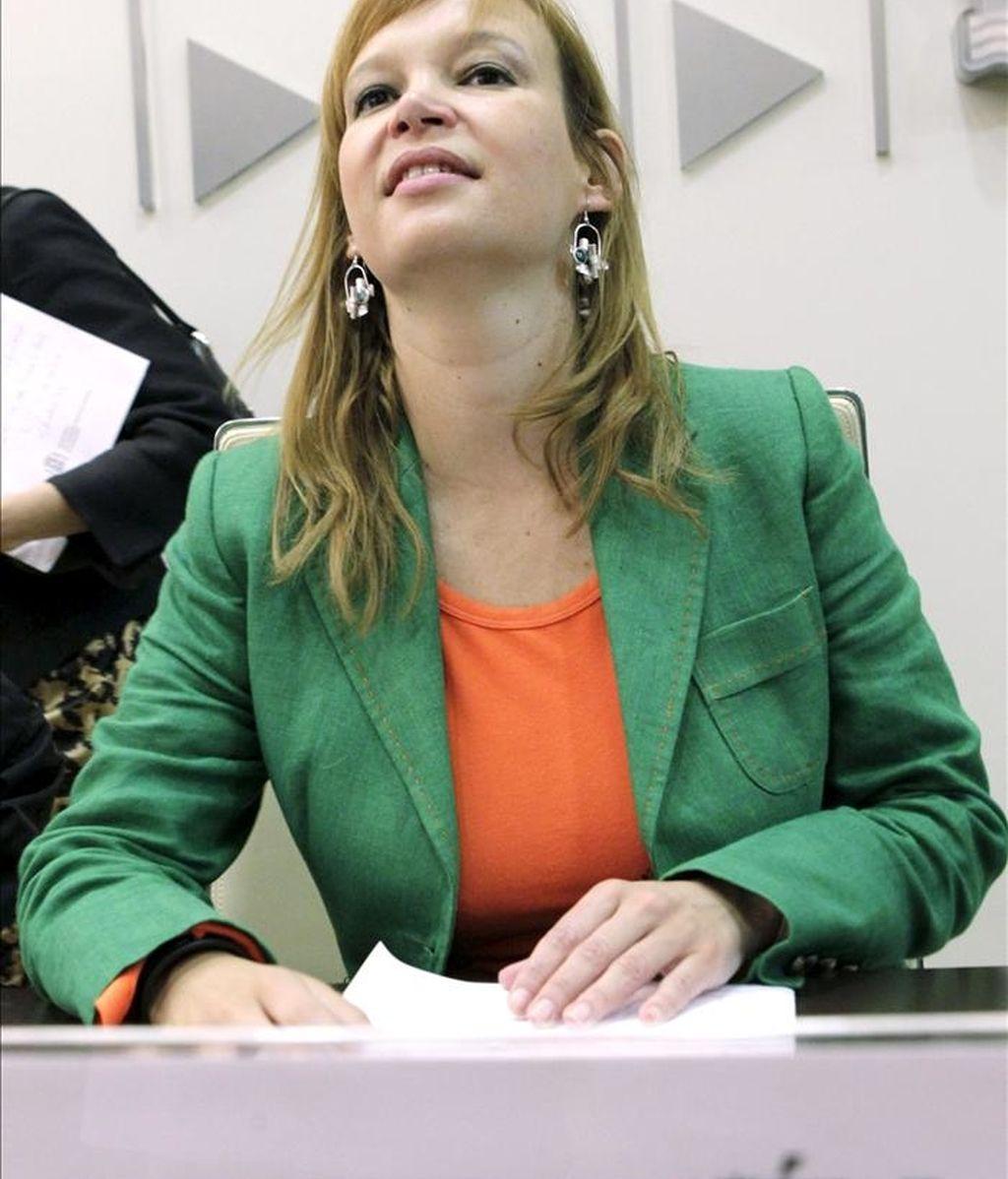 La ministra de Sanidad, Política Social e Igualdad, Leire Pajín. EFE/Archivo
