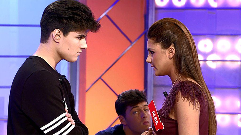"""Julen, a Alba: """"Si tanto has perdido ya, ¿por qué no te quedas?"""""""