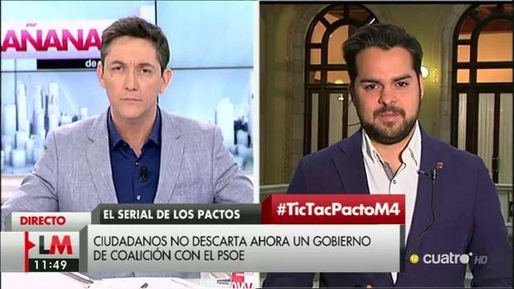 """Fernando de Páramo (C's): """"No hemos descartado entrar en un gobierno pero no se ha hablado de eso en las negociaciones"""