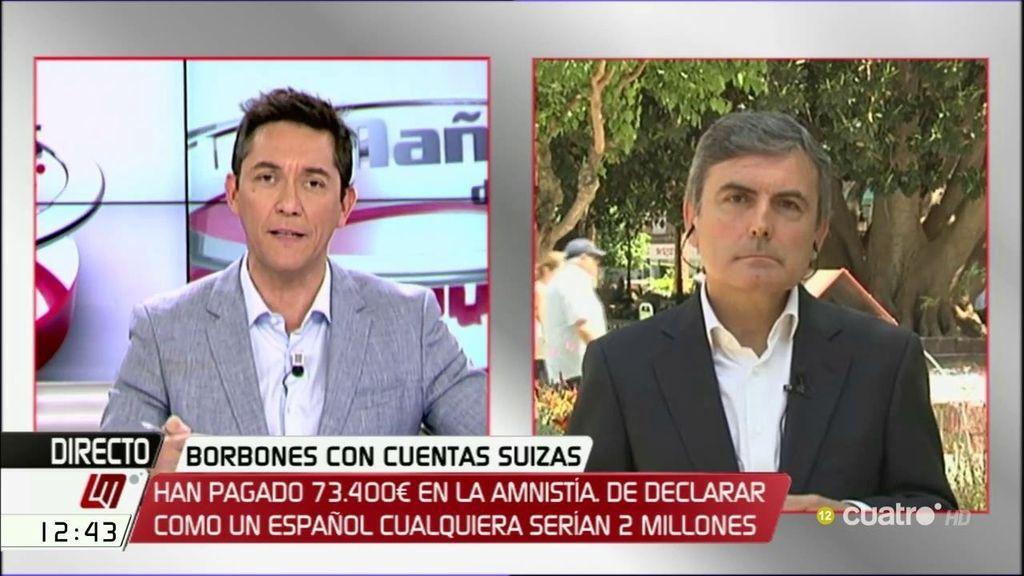 La entrevista de Pedro Saura, a la carta