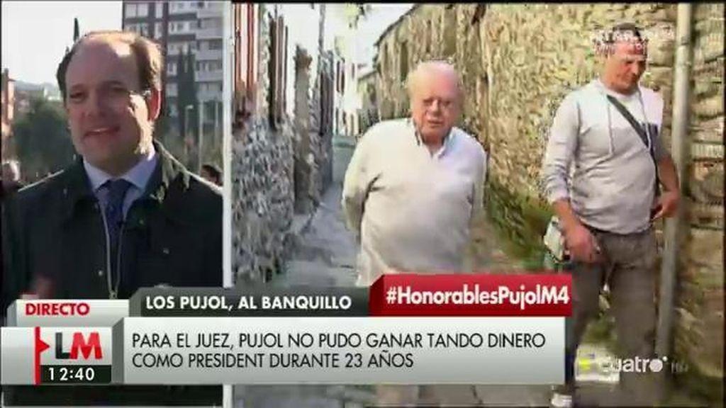 """Esteban Urreiztieta: """"Sería un agravio comparativo si Pujol abandona el juzgado sin medidas cautelares"""""""