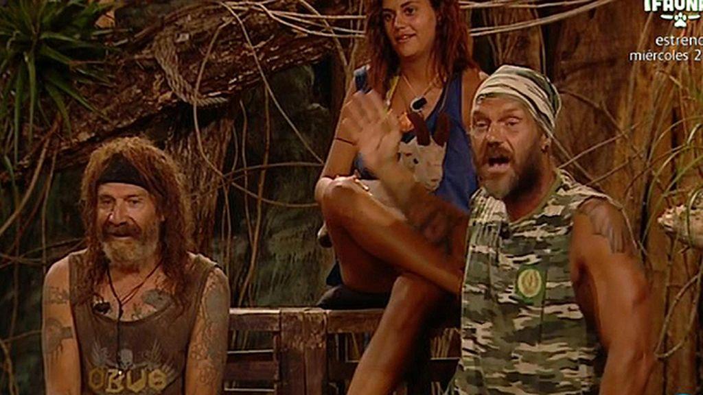 Los concursantes escuchan las críticas de Lola y Nacho Vidal