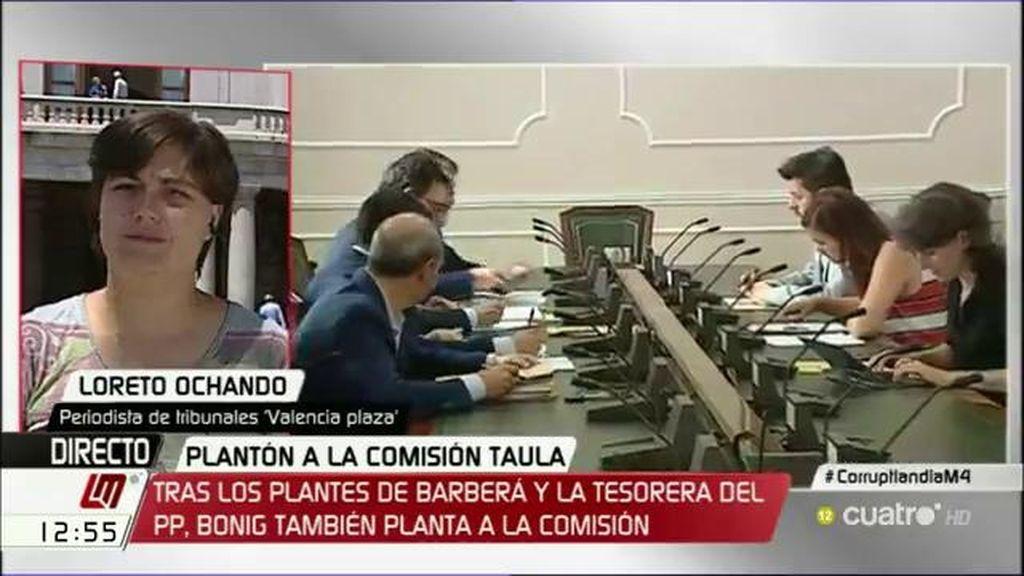 """Loreto Ochando, sobre la comisión de Taula: """"Ha sido un plantón tras otro"""""""