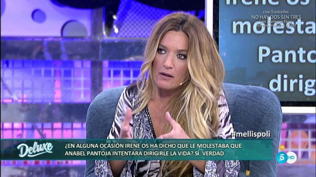 "Irene, según Las Mellis: ""Anabel Pantoja trataba de dirigir mi vida en todo momento"""
