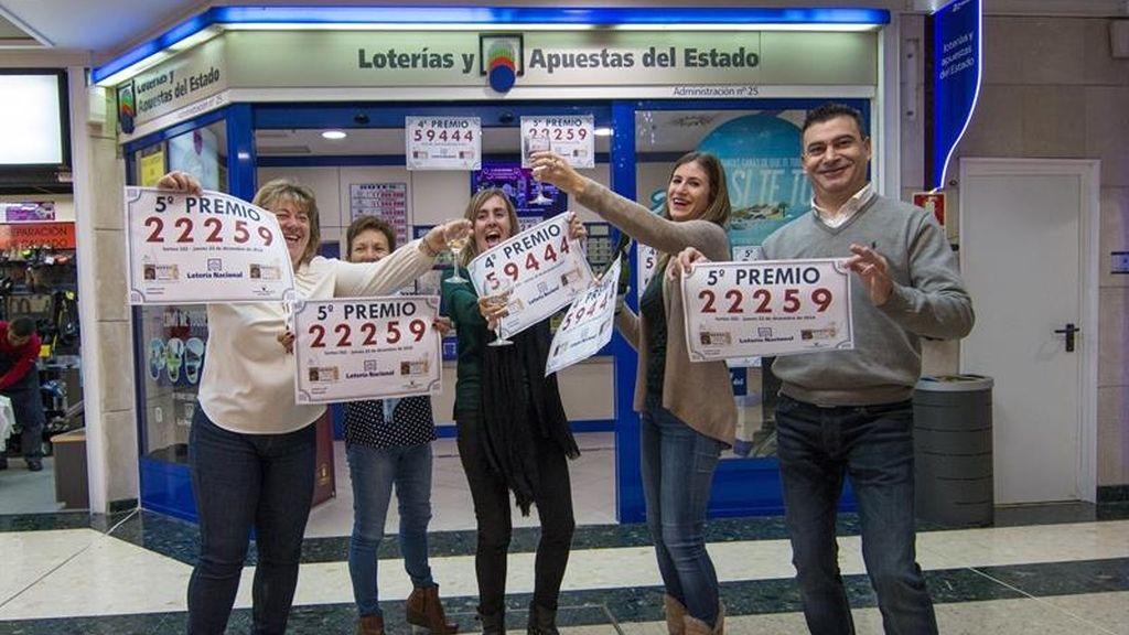 En Santander celebran la venta del quinto premio: el número 22259