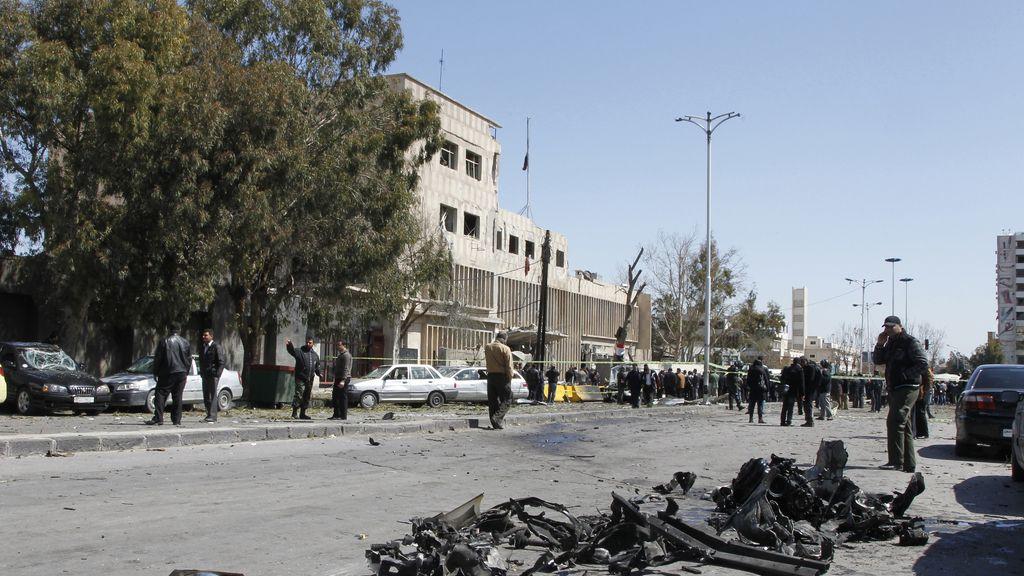 Decenas de muertos en varios atentados en Dasmaco