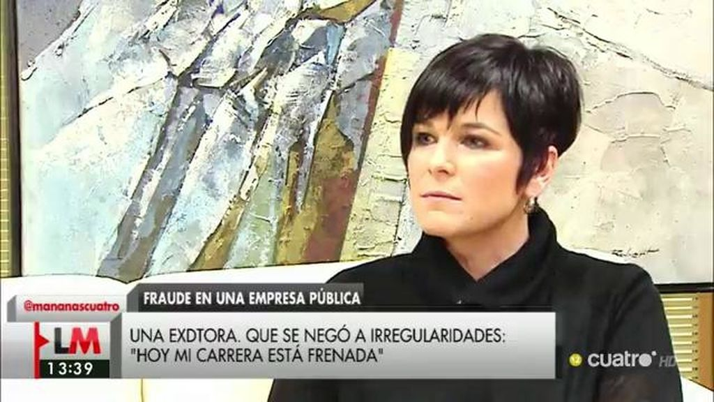 "A. Peralta, de Acuamed: ""La gente que se negaba a firmar era apartada o represaliada"""