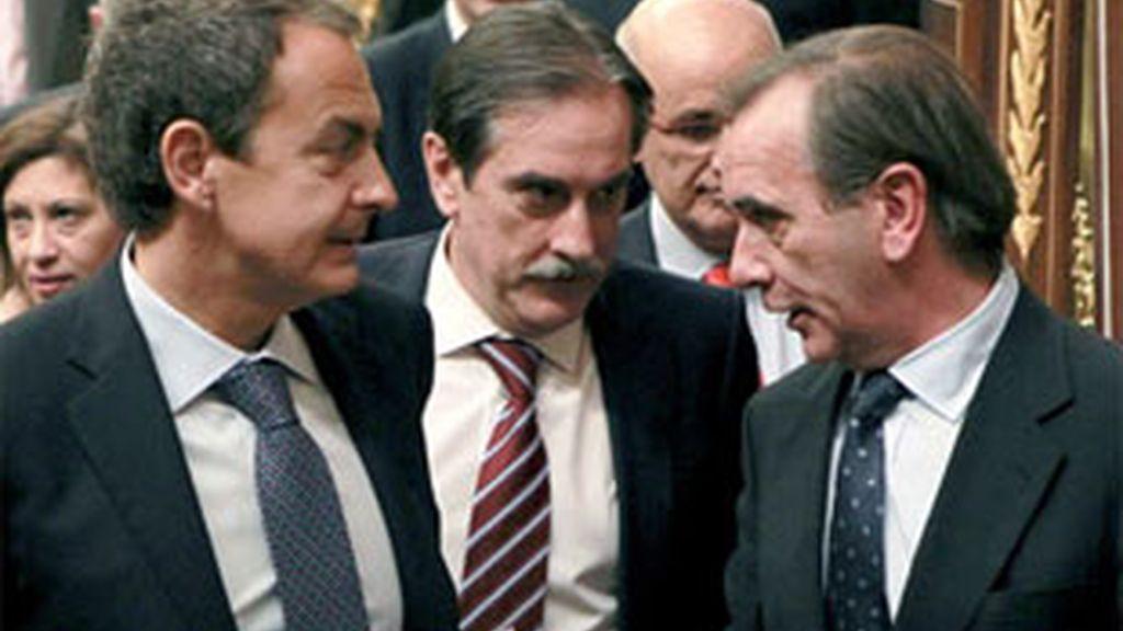 Enmiendas del Grupo Socialista. Foto: EFE.