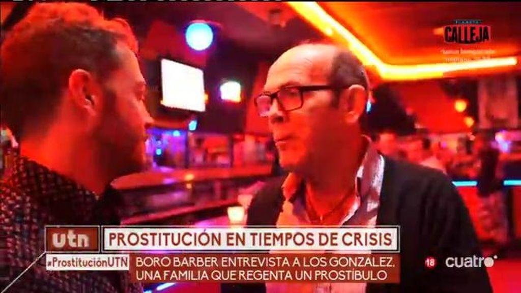 """José María: """"Antes venía todos los días al prostíbulo y ahora cada 15 ó 20 días"""""""