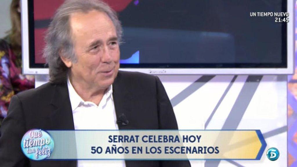 """Serrat: """"En el fondo siempre queda un perfume de nostalgia de las cosas"""""""
