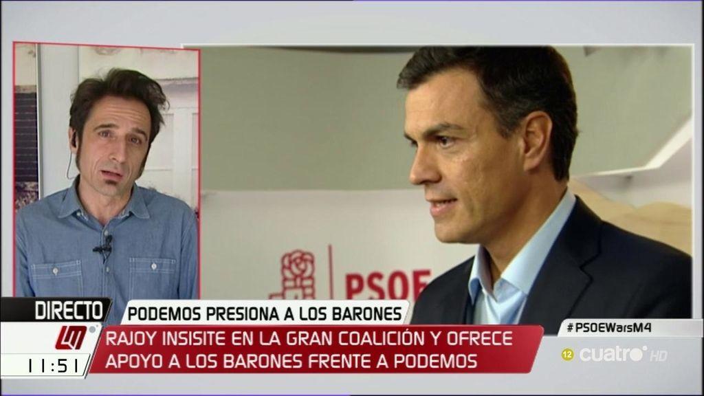 """Javier Gallego, sobre Pedro Sánchez: """"Es un órdago para intentar salvar su cuello que puede costar el cuello a su partido"""""""
