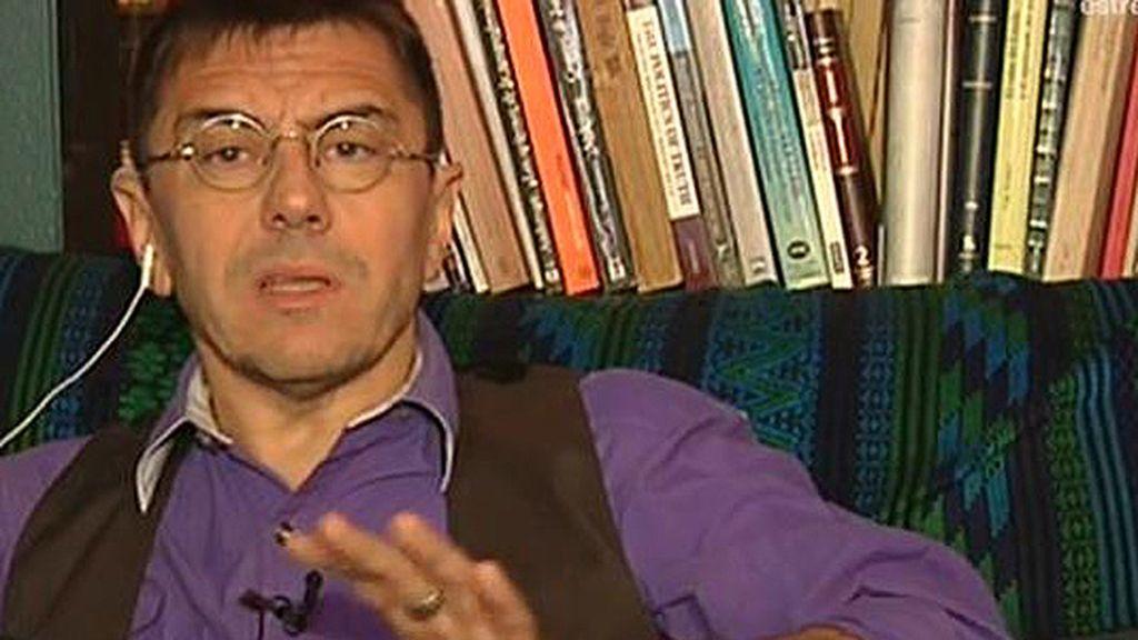 """""""No se trata de hacer un pacto con el PSOE sino de frenar la responsabilidad del PP en vaciar los derechos"""""""