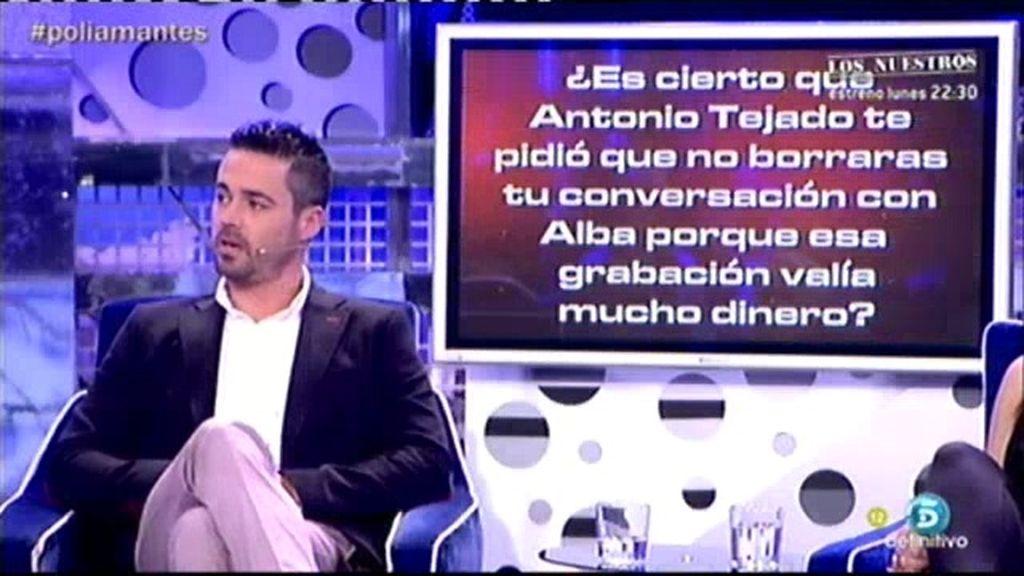 """Ismael: """"Tejado quería que vendiese mis conversaciones con Alba"""""""