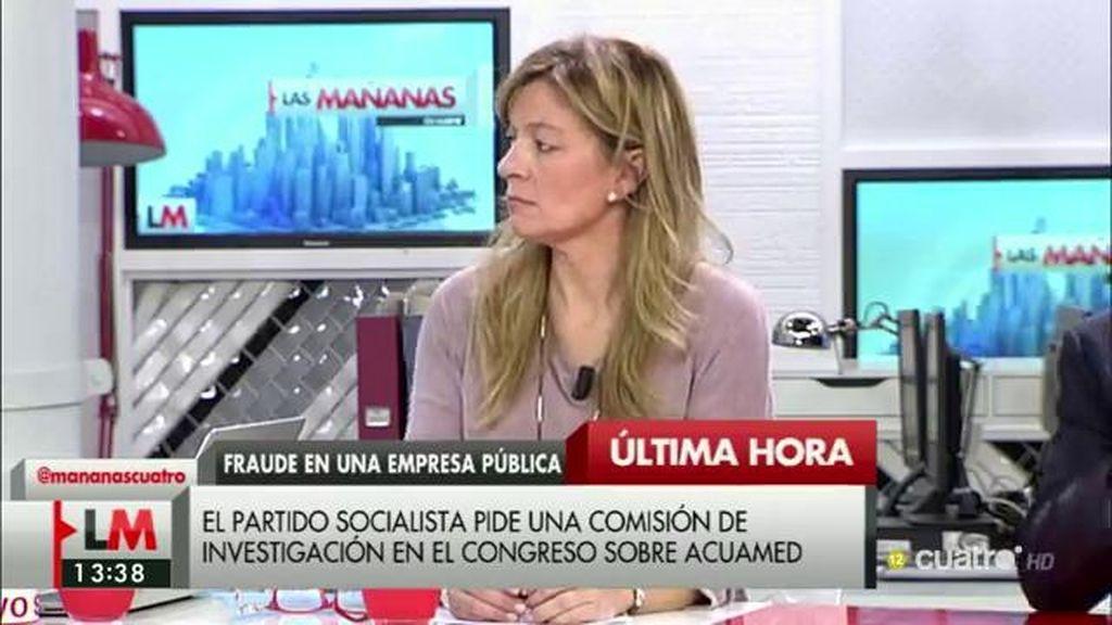 """A. Garrido: """"Si existiera una ley de protección a los denunciantes de corrupción esto no estaría pasando"""""""