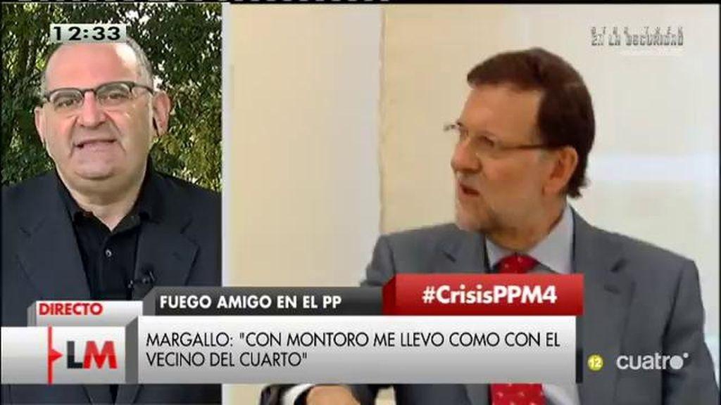 """Antón Losada, sobre el PP: """"Estamos viendo una especie de Operación Triunfo para hacerse un hueco en las listas"""""""