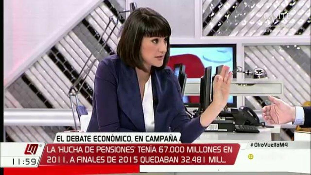 """M. González Veracruz: """"Rajoy no podrá hacer Gobierno saque los votos que saque porque no va a poder hablar con nadie"""""""