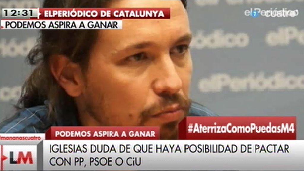 """P. Iglesias: """"No somos sectarios, con quien esté dispuesto a rectificar, mano tendida"""""""