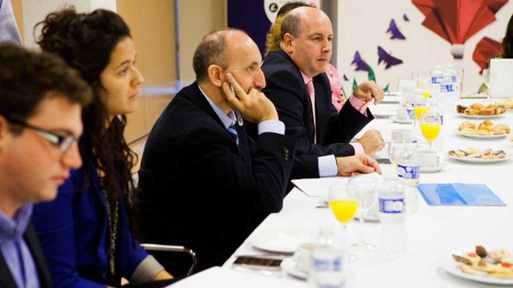 El encuentro de Matesanz con los blogueros, en fotos