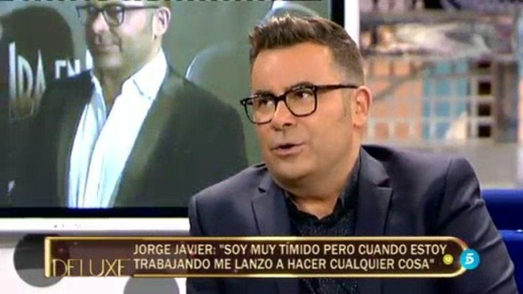 """Jorge Javier: """"Me inquieta saber cómo voy a afrontar una noche de estreno en un teatro"""""""