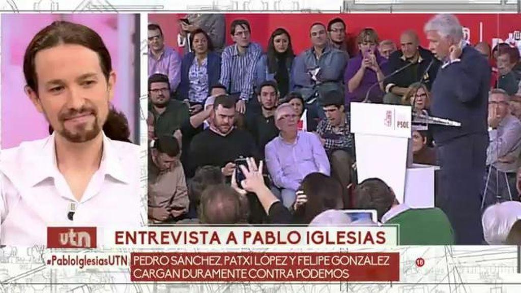 """Iglesias, sobre las críticas: """"Algunos se creen que para ser Presidente hay que ir elegante"""""""