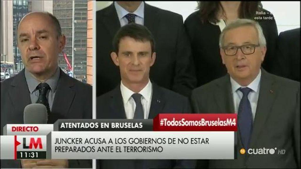 """Bernardo de Miguel: """"Las críticas de Juncker van dirigidas sobre todo al gobierno belga"""""""