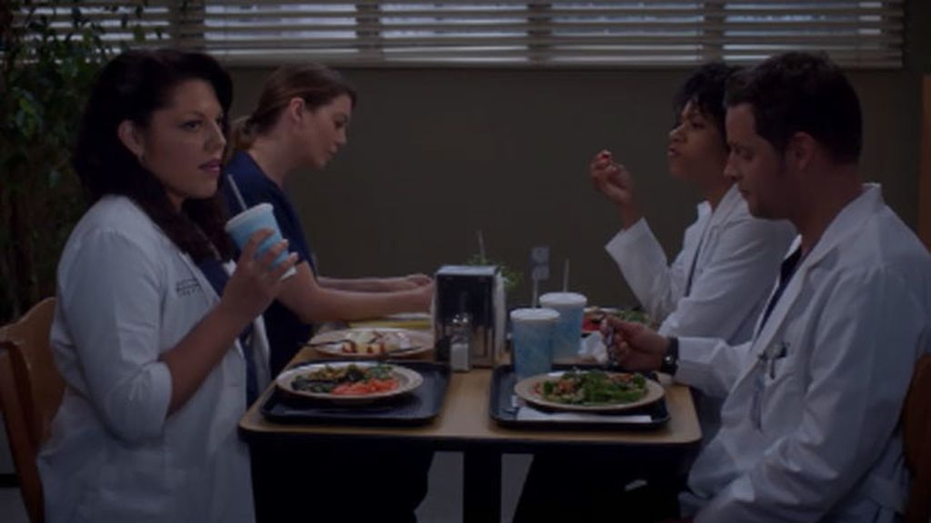 "Callie: ""Arizona parece estar tan…feliz"""