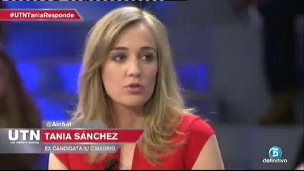 """Tania Sánchez: """"Es un punto y aparte, no entraré en Podemos"""""""
