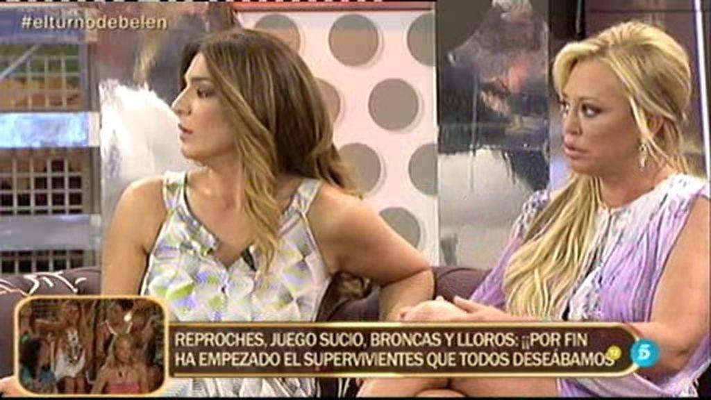 ¡Tensión entre Belén Esteban y Raquel Bollo!