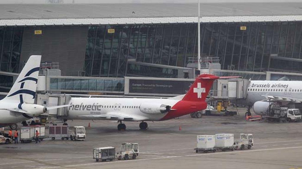 Roban 37 millones de euros en diamantes en el aeropuerto de Bruselas