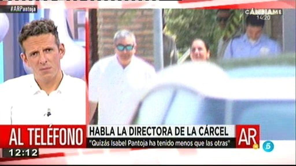 """La directora de Alcalá de Guadaira: """"Pantoja no ha hecho nada sancionable"""""""