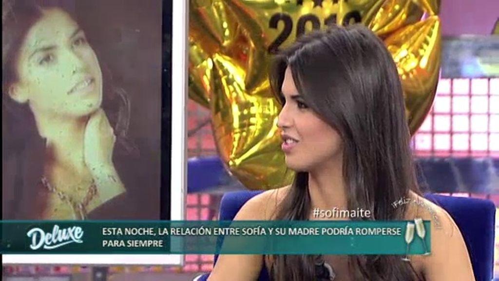 """Sofía: """"Mi madre no miente pero exagera todo mucho y se puede malinterpretar"""""""