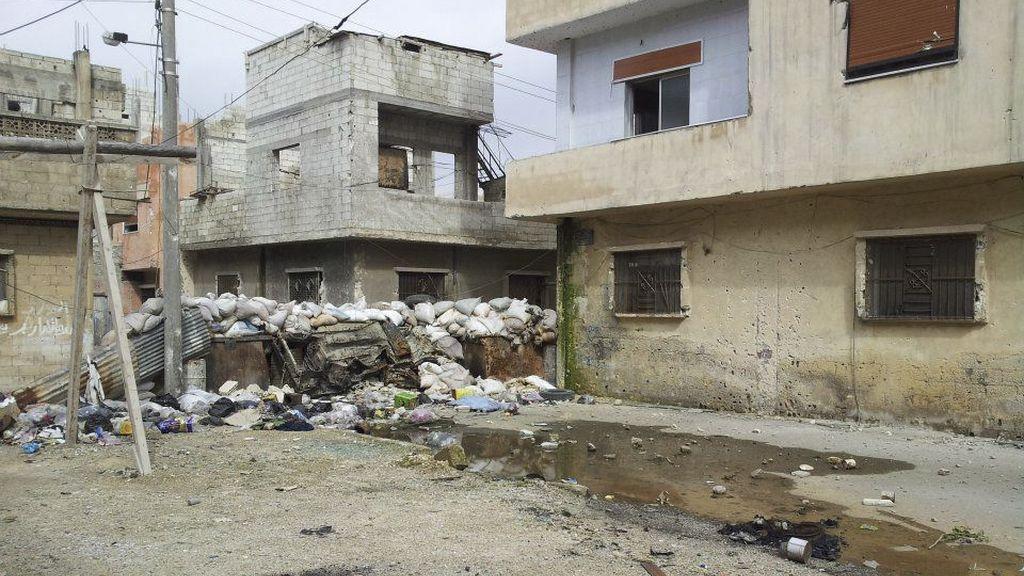 La Media Luna Roja comienza a evacuar a mujeres y niños de Homs